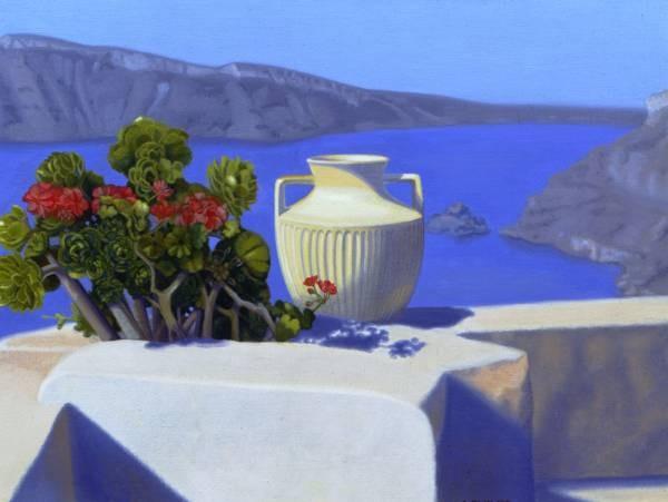 Morning Offering Santorini